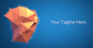 create this quirky polygon intro video for your logo