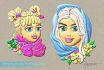 create a Cartoon 3D Plasticine Character, Couple Portrait