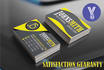 create double sided AMAZING business card