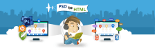 convert Psd to responsive html, css 3