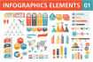 create beautiful  infographics for you
