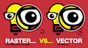 vectorize or redraw your logo or picture