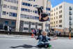 do parkour, tricking and freerunning in photo or video
