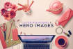 design an engaging Hero and Header Image