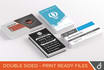 design a PROFESSIONAL double sided Business Card for you