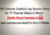 create Rich Cinematic Graphical Logo Openers Intros for YT Channel Websites and Products Promos Video