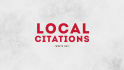 list your Business or Website in 30 Local Directories