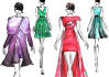 fashion illustration and Technical drawing