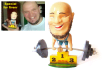 create a caricature figure toy by your photos