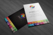 design stunning and beautiful business card in 24h