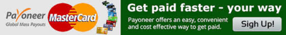provide you Payoneer account with card