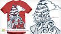 create professional  very impressive T shirt