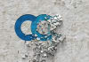 create crumbling on any type wall logo reveal with custom message to Promote ur business or website opener