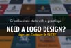 design a PROFESSIONAL logo for your Company