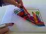 create hand made peelable stain glass