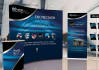 design Corporate Eye Catching Roll up Banner