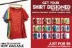design A Stunning t shirt in 24hrs