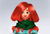 sculpt you a Beautiful Character 3D Bust