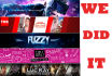 design awesome facebook twitter you tube cover image