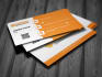 design MINIMALIST and awsome business cards within 24hrs