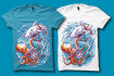 make trendy t shirt design for merch by amazon
