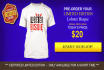 design HQ Ad Banners for your Fb Teespring Ad Campaigns