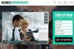 manage your website marketing program