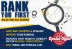 create super,highPR,backlinks for you
