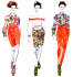 create a beautiful fashion illustration for you