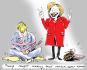 do political news cartoons