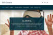 design homepage PSD for website