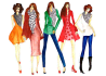 do professional fashion Illustrations