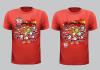 create beautiful tshirt design for you with your own ideas