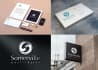 generate four 3D mockups of your logo