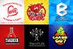 design 2 creative and unique logo