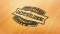 design an awesome wood engraved logo