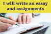 assist you to write quality essays and research assignment