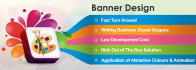 design banner for your web and digital printing