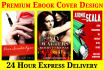 design a professional ebook book kindle book cover