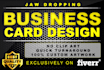 create a Jaw Dropping BUSINESS Card