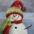 any tipes of Christmas days oil painting