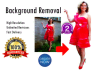 remove Background of 10 Images with Photoshop