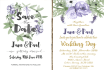 design Wedding Invitations, Save the Date Cards and Signs