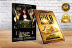 do Amazing Events and Party Flyers within 10 Hours