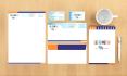 design a professional stationary set