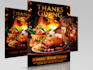 design Flyer Thanksgiving Celeberations