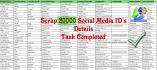 do web scraping, data mining, data extraction work