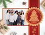 create a custom christmas card