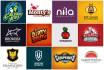 design 2 UNIQUE logo in just 24 hrs