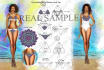 create beautiful luxury lingerie,bodysuit,swimwear designs